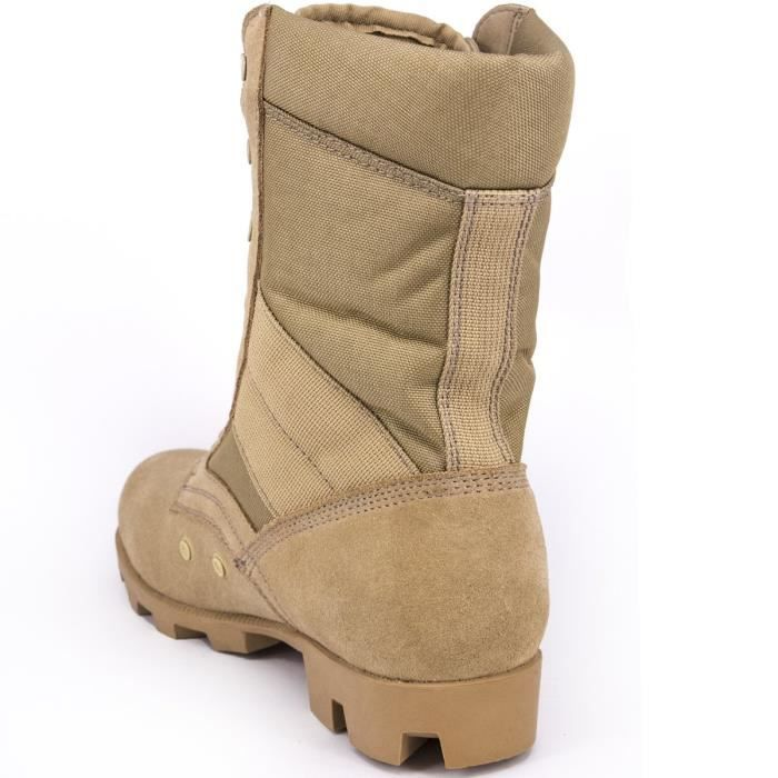 Outdoor Work Combat Desert 46 Boots Jungle Grain Leather Boots Speedlace Boots UJ8LE Military Full Taille wSxAzqZ