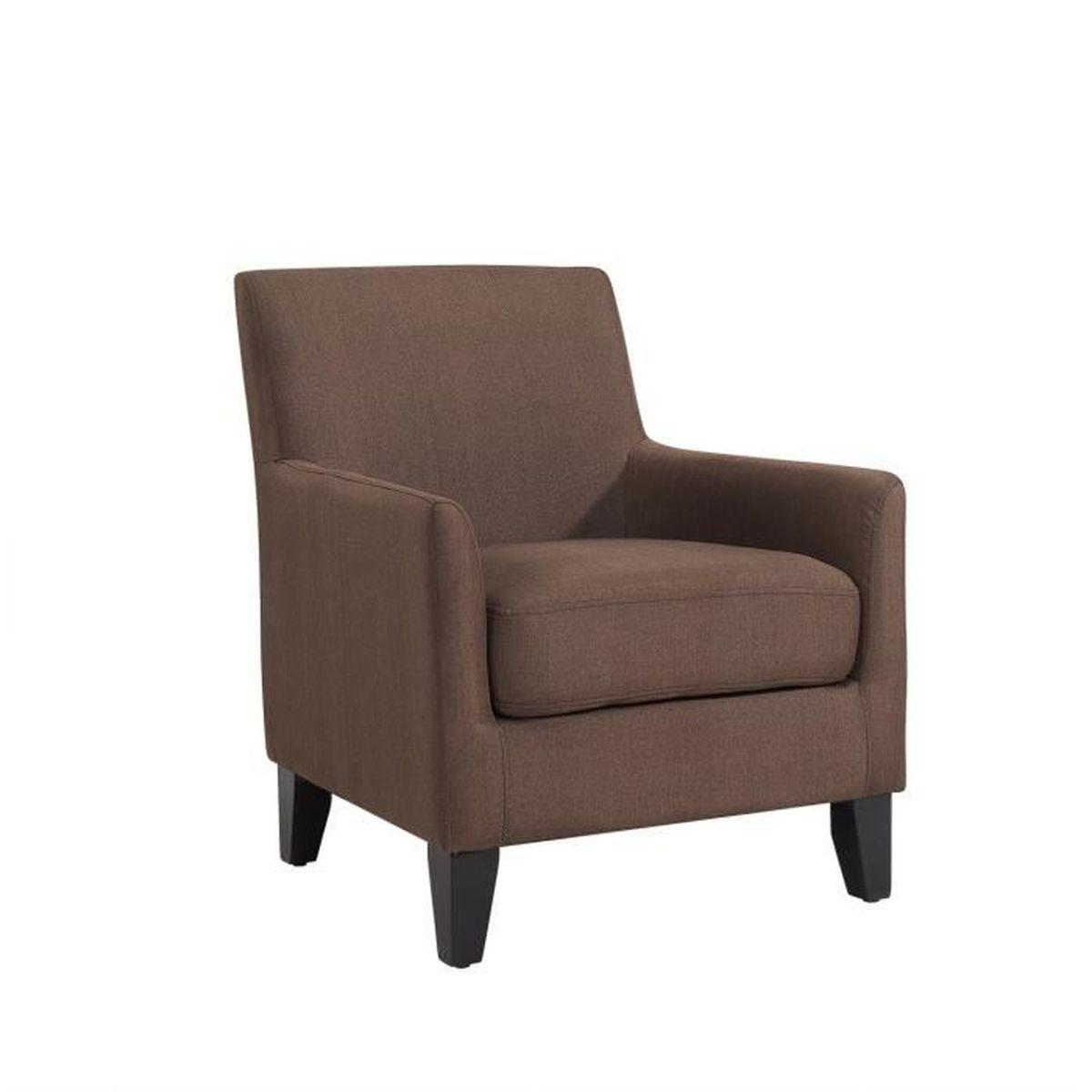 fauteuil tissu marron confortable brad Résultat Supérieur 5 Frais Fauteuil Marron Pas Cher Photographie 2017 Jdt4