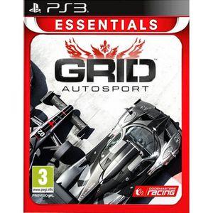 JEU PS3 Grid Autosport Essentials Jeu PS3