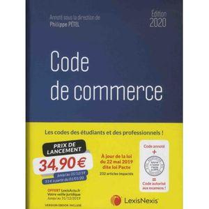 LIVRE DROIT AFFAIRES Code de commerce. Edition 2020