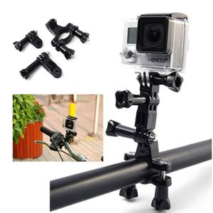PACK CAMERA SPORT Vélo de selle guidon support pour Gopro Hero 4 3 3