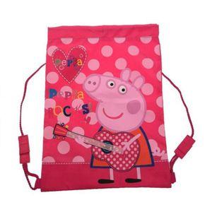 sac dos sac de sport piscine ou plage peppa pig - Jeux De Peppa Pig A La Piscine