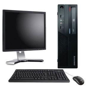 UNITÉ CENTRALE + ÉCRAN PC de bureau - Lenovo Thinkcenter M58-6258-CTO For