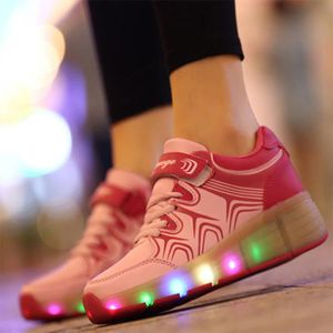 BASKET LED chaussures poulie chaussures à roulettes Heely