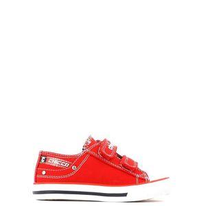 BASKET Chicco Scarpa velcro Enfant Rouge