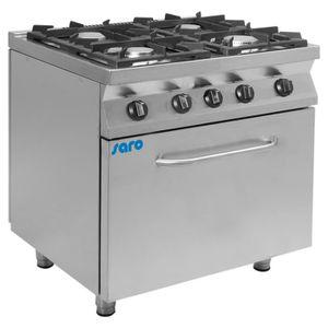 CUISINIÈRE - PIANO Cuisinière à gaz avec four électrique modèle F7-KU
