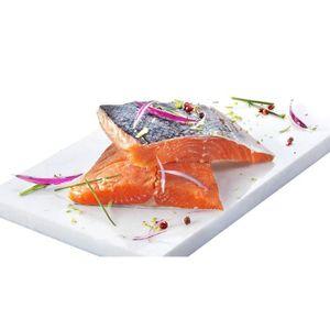 POISSON CUISINÉ 2 pavés de saumon surgelés sauvage d'Alaska - 250