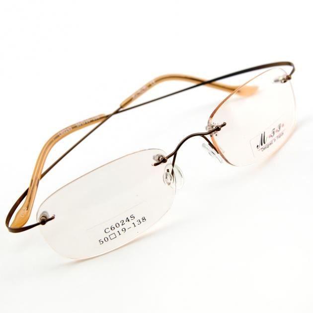 percée percée de Monture invisible Marron Marron LC6024 lunettes Achat de  vue HwHCxARq 9cfdaebb6e25