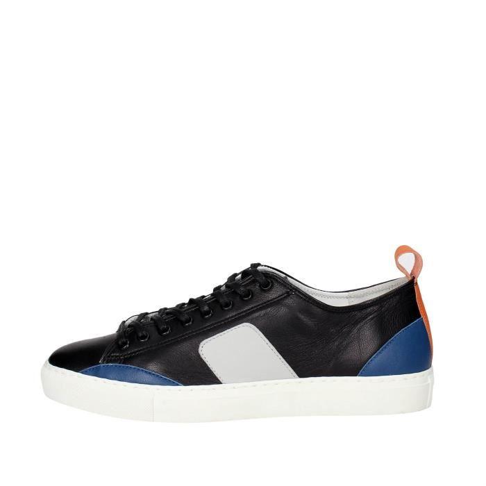 D.a.t.e. Sneakers Homme Noir, 42