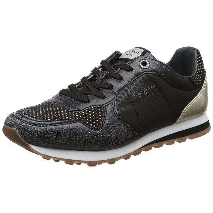 Pepe jeans Chaussures Baskets Boston noires Pepe jeans KFrHPgiW