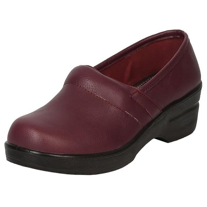 Slip-on travail professionnel Comfort Clog E1TF3 Taille-39 1-2