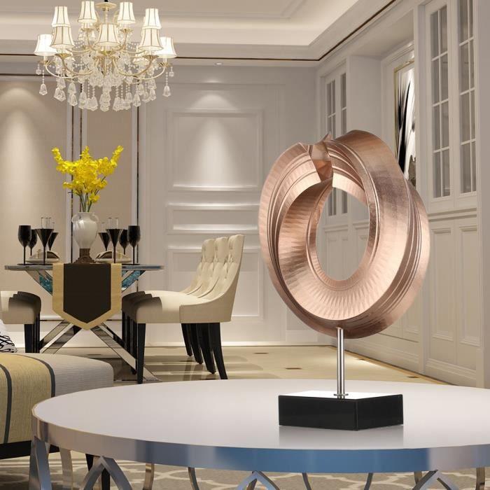 Tomfeel Twist Sculpture En Fibre De Verre Décoration Pour Salon
