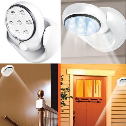 Neuf 360° Mouvement Presence Extérieur Détecteur Intérieur Lumière Lampe Led FJc1TK3l