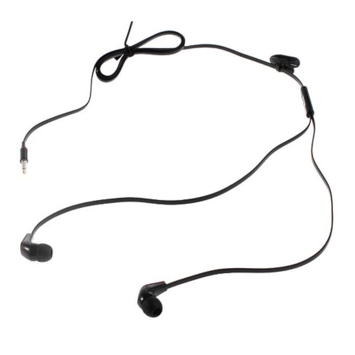 Ecouteur Stereo Micro Noir Pour Acer Liquid Z5