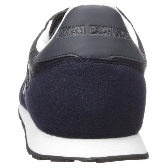 A|x Armani Exchange Courir Retro Sneaker Sneaker Fashion G8MJS Taille-39