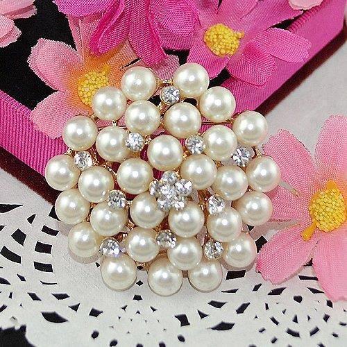 Pearl femmes Garland Broche pour etTBHVN