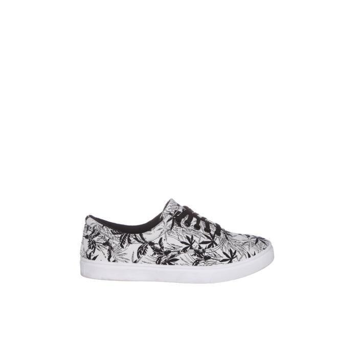 Tennis détente Homme .Fermeture à lacets.Produit de la marque WS Shoes. Coloris : blanc et noirMatière : textileSemelle : 2ac2xwUUVM