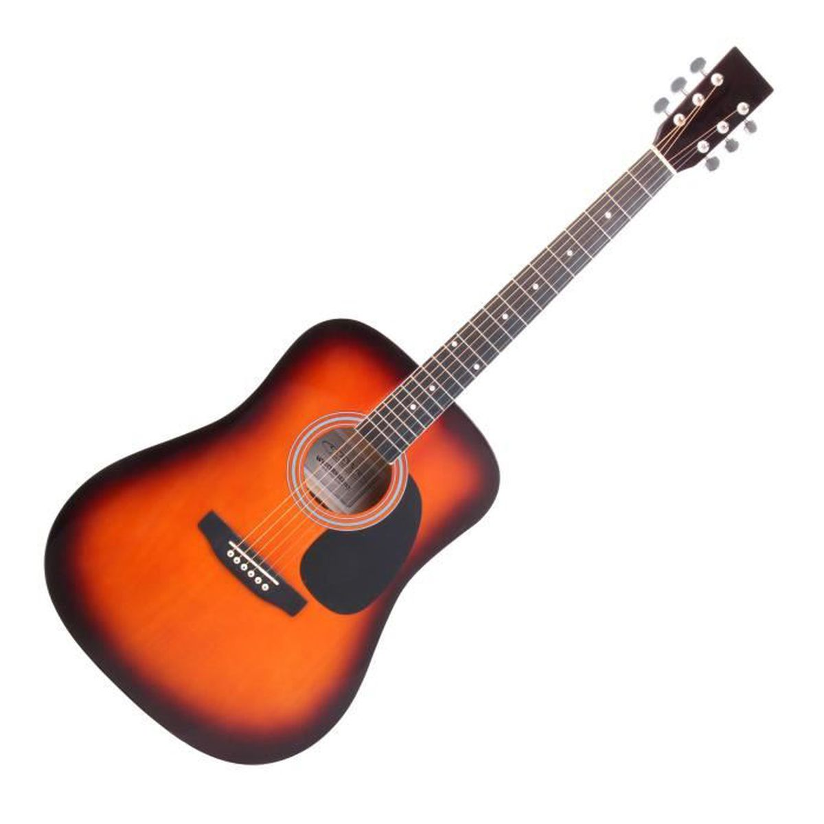 classic cantabile ws-10sab guitare folk sunburst