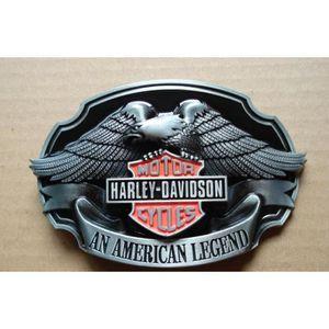 19749ae612d1 Boucle De Ceinture Aigle Harley Davidson – American Legend - Biker – Motar  –Rock -