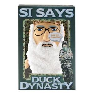 PELUCHE Duck Dynasty Si Says Interactive Plush Toy