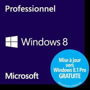 SYSTÈME D'EXPLOITATION Windows 8 Professionnel OEM 64 bits