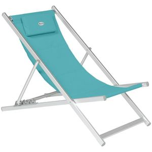 chaise longue chilienne honolulu bleu paon - Chilienne Pas Cher