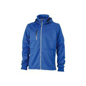 Sport Veste Homme Nautique Softshell Blanc Bleu Xxl De 1wPW5