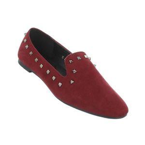 Chaussures femmes flâneurs babouche Bordeaux 41 OxwLVie
