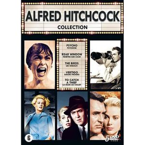 DVD FILM ALFRED HITCHCOCK Collection 5 Films