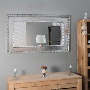 miroir de salle a manger achat vente miroir de salle a manger pas cher soldes d s le 10. Black Bedroom Furniture Sets. Home Design Ideas