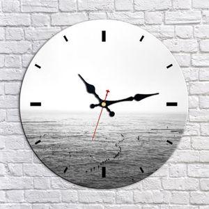 HORLOGE Horloge-Silencieux-Horloge murale-Décoration Creat
