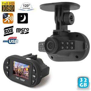 BOITE NOIRE VIDÉO Caméra embarquée voiture boite noire HD 1080p enre
