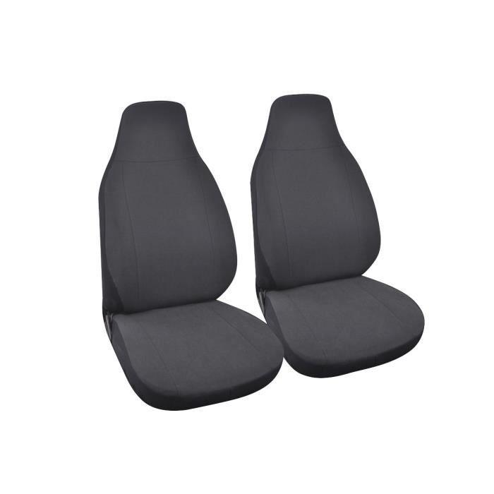 Housses de siège - Pour Smart - Gris anthracite