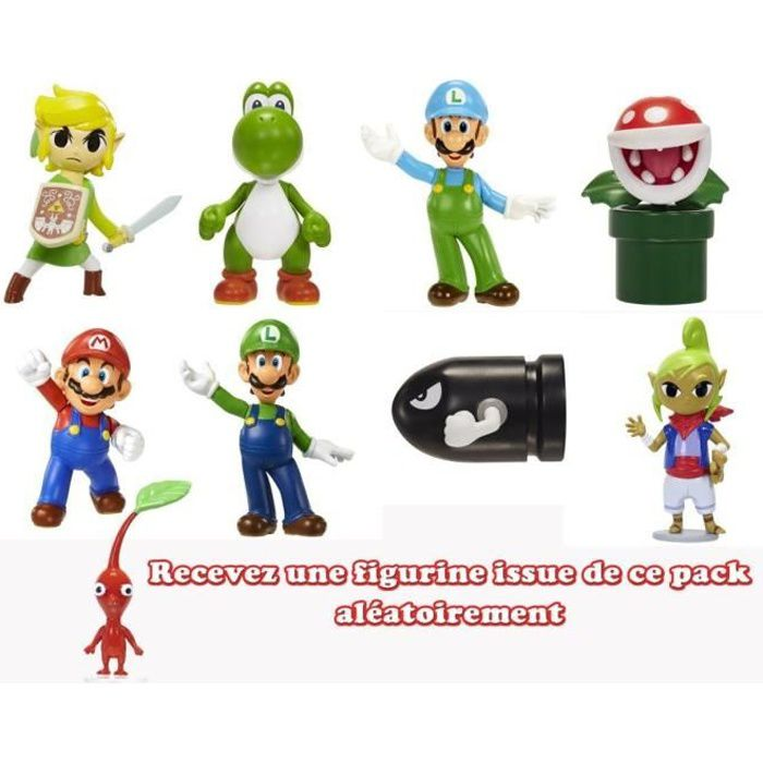 Nintendo- Mini figurines 6cm