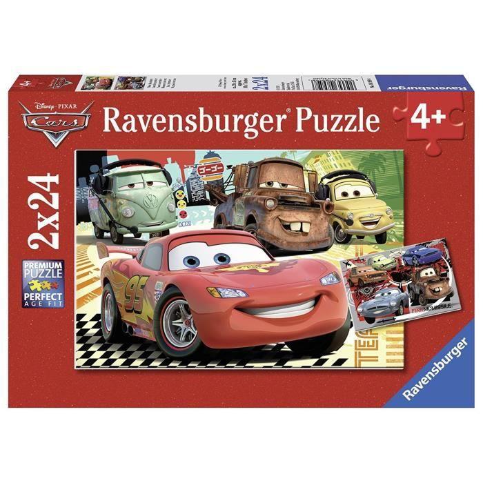 CARS Puzzle 2x24 pcs Nouvelle aventure