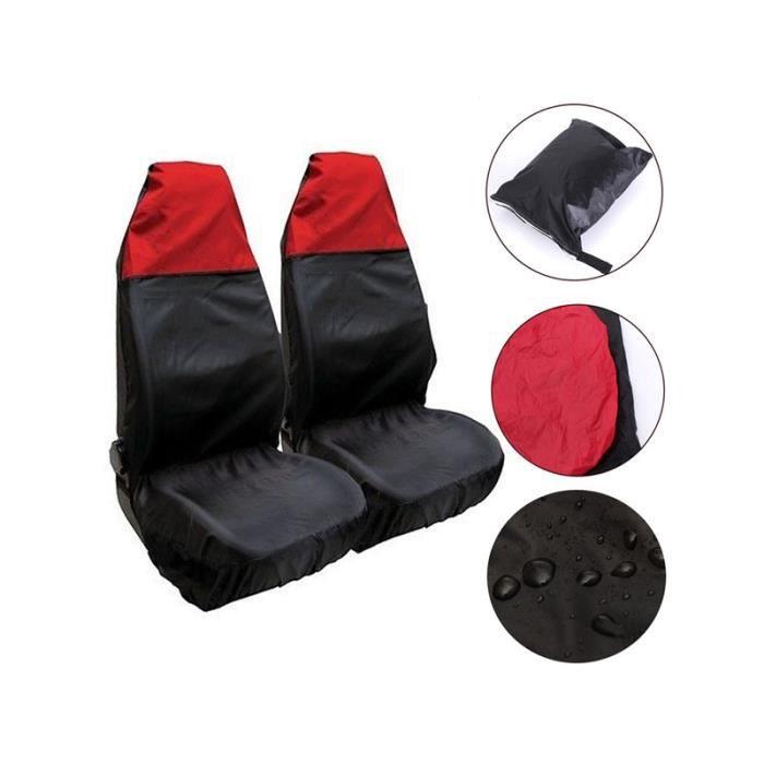 2 PCS Housses de siège de voiture Étanche à la poussière Protecteurs de siège de voiture en nylon Car Pads Coussins