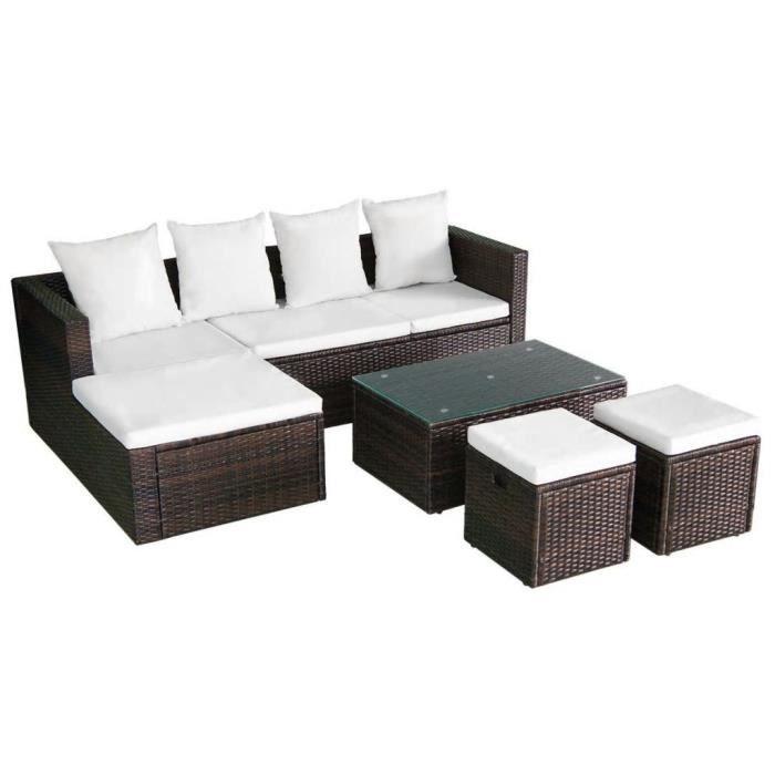 Ensembles de meubles d\'exterieur Ensemble de canape d\'angle pour ...