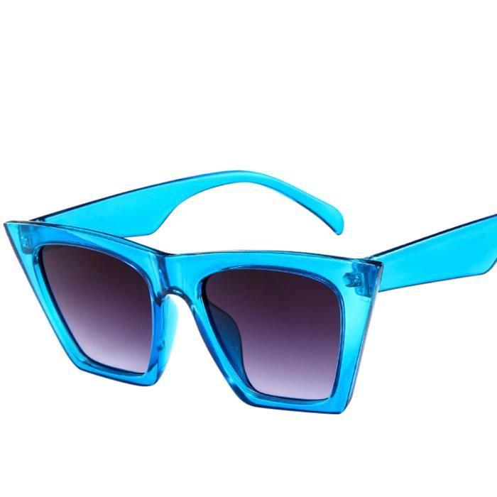 Deuxsuns®Mode Femmes Dames Lunettes de soleil surdimensionnées Vintage Retro Cat Eye Sun Glasses@zf337