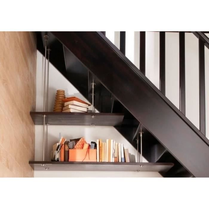kit 2 tag res pour am nagement sous escalier achat vente rampe main courante kit 2. Black Bedroom Furniture Sets. Home Design Ideas