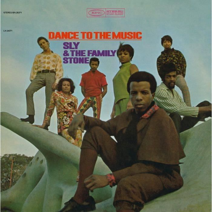 Sly And The Family Stone Dance To Music (1 Lp)