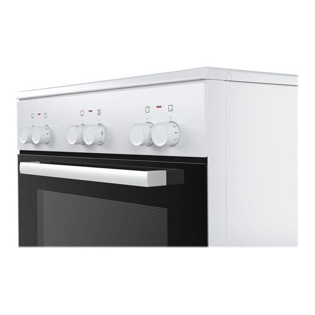 bosch cuisini re lectrique 66l 4 feux blanc. Black Bedroom Furniture Sets. Home Design Ideas