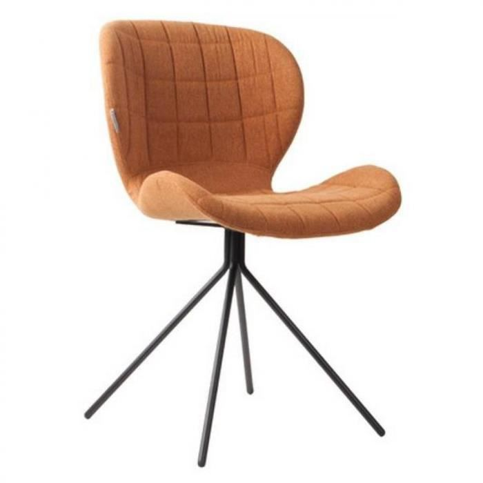 Chaise zuiver omg caramel achat vente chaise acier inoxydable polyester soldes d s le for Chaise zuiver