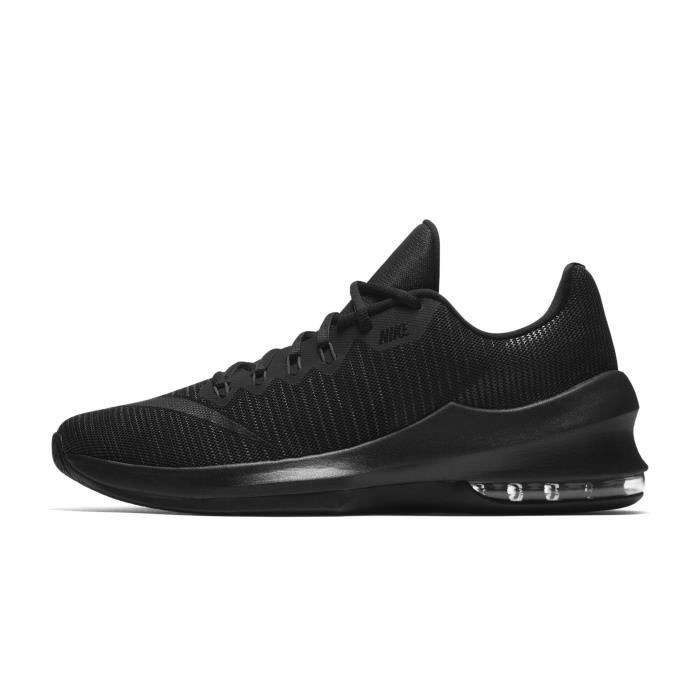 Chaussures basketball Nike Air Max Infuriate 2 Low Noir
