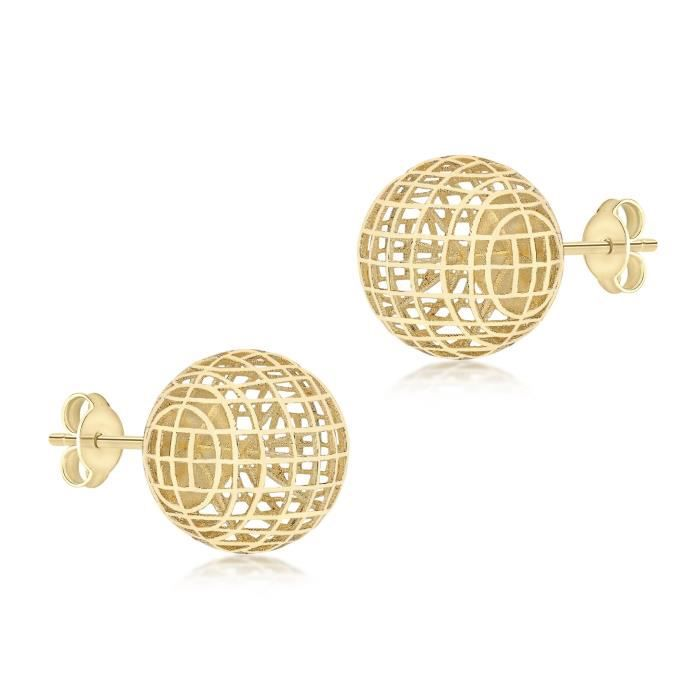 Boucles Doreilles - Or Jaune 9 Cts - 1.55.8582 BO0IG