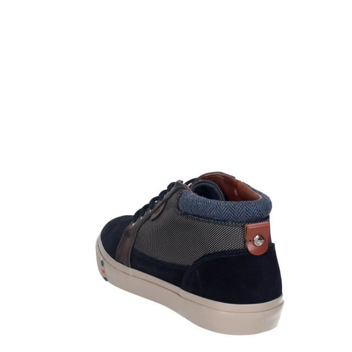 Wrangler Haute Sneakers Homme Bleu, 45