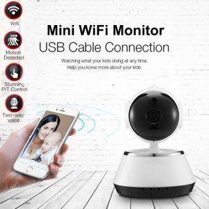 CAMÉRA IP Sans fil 720P pan Tilt réseau de sécurité CCTV cam