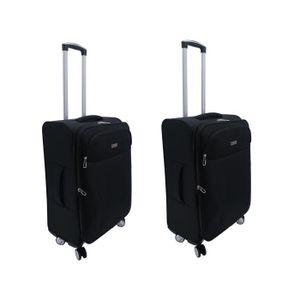 SET DE VALISES Lot de 2 valises moyennes taille 65 x 41 x 25 cm