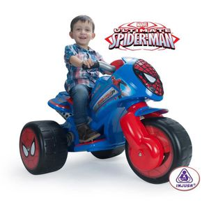 MOTO - SCOOTER SPIDERMAN TriMoto Electrique Enfant Ultimate 6 Vol