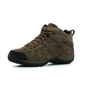 Columbia Redmond XT Mid Waterproof Gris - Chaussures Chaussures-de-randonnee Femme