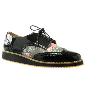 chaussure derbies femme achat vente pas cher cdiscount. Black Bedroom Furniture Sets. Home Design Ideas